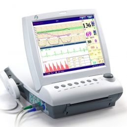 Cardiotocografo con parametri materni EDAN