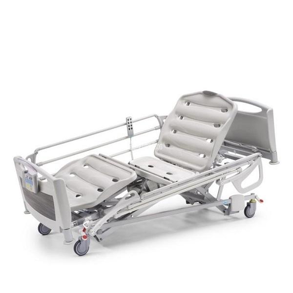 Letto ospedaliero elettrico con sponde per casa di cura - Letto ospedaliero con sponde ...
