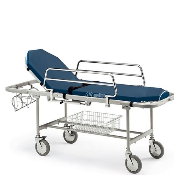 Barella ospedaliera a due sezioni