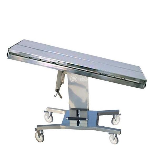 Tavoli operatori per veterinaria con ruote
