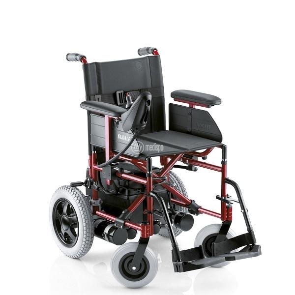 sedia a rotelle elettrica pieghevole surace 715 magic