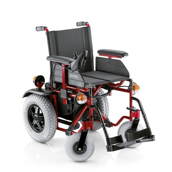 Sedia a rotelle elettrica per esterno pieghevole surace 700 for Sedia elettrica x scale