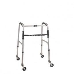 Deambulatore con 4 ruote girevoli