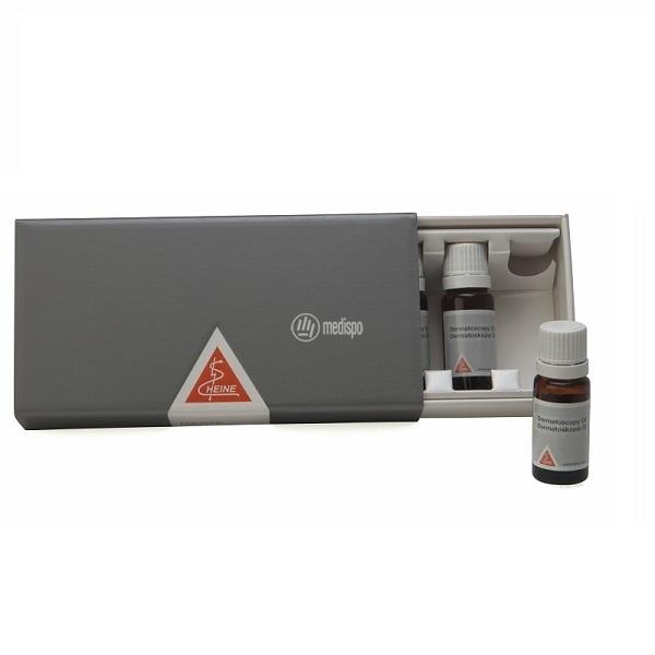 Olio per dermatoscopio Heine