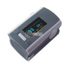 Pulsossimetro a dito con allarmi