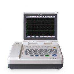Elettrocardiografo dodici canali interpretativo a colori