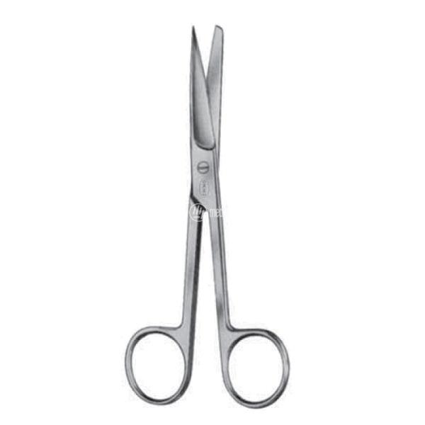 Forbici per chirurgia rette punte alterne