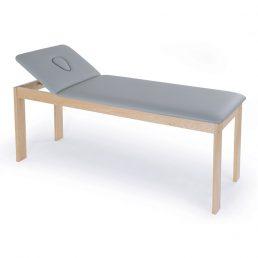 Lettino terapia in legno con foro