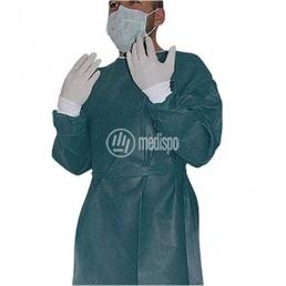 MP7050 Camice chirurgico in TNT non sterile verde