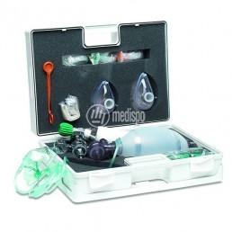 Valigetta di rianimazione completa con ossigeno