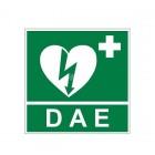 SE0001 - Segnaletica per defibrillatore DAE frontale