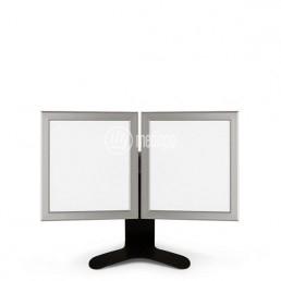 Negativoscopio da tavolo a due pannelli