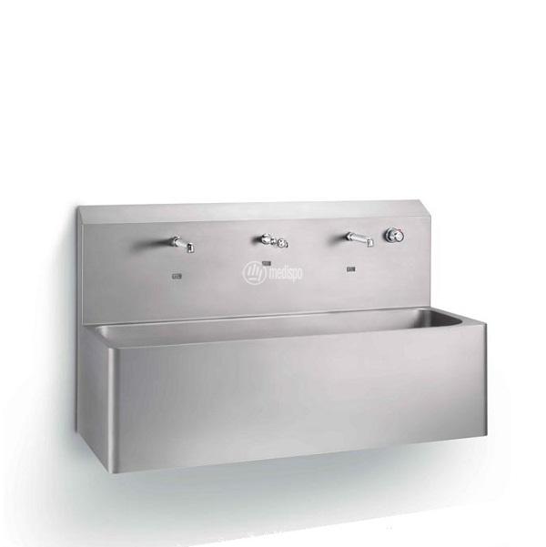 Lavamani per sala operatoria doppio
