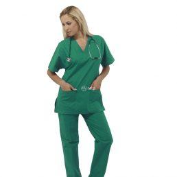 Divise verdi per sala operatoria