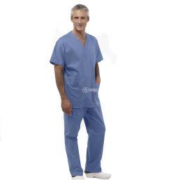 Divise per sala operatoria in puro cotone