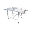 VT1610 - Barella veterinaria con carrello in acciaio inox