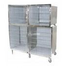 VT1900 - Gabbia veterinaria di degenza a quattro posti
