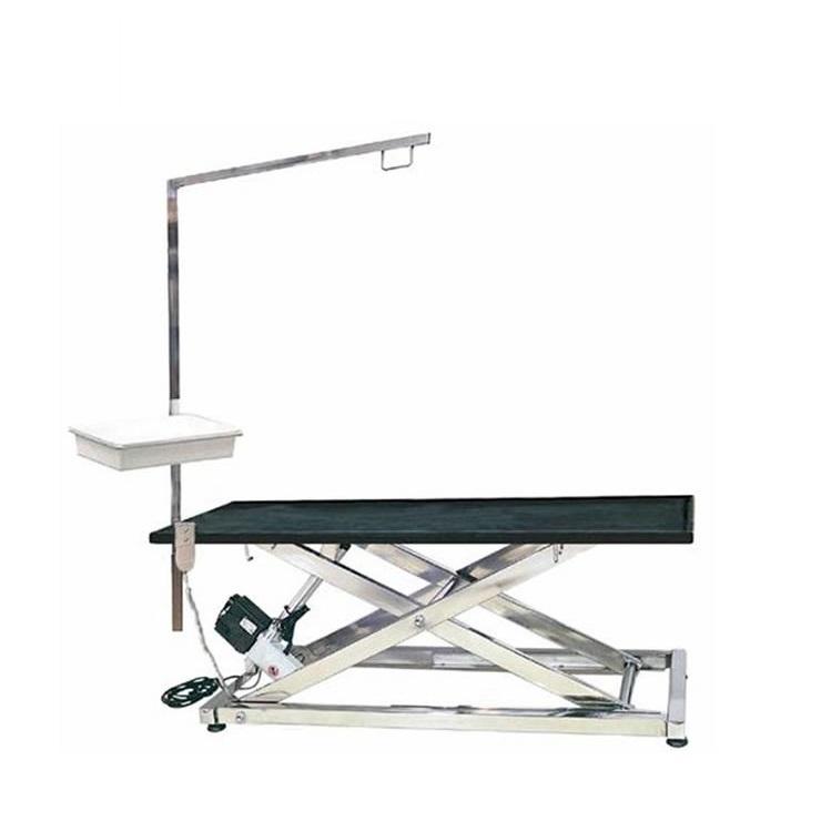 Tavolo per toelettatura in acciaio inox