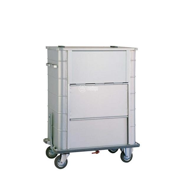 Carrello ospedaliero per trasporto sacchi