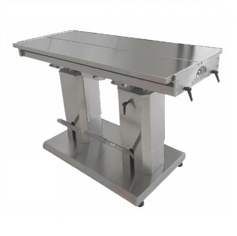 Tavolo idraulico a colonne