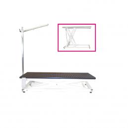 Tavolo per toelettatura elettrico con braccio